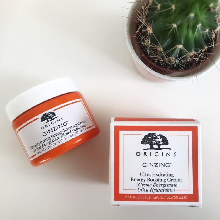 Routine soin au Ginzing d'Origins (crème pour le visage) (1)