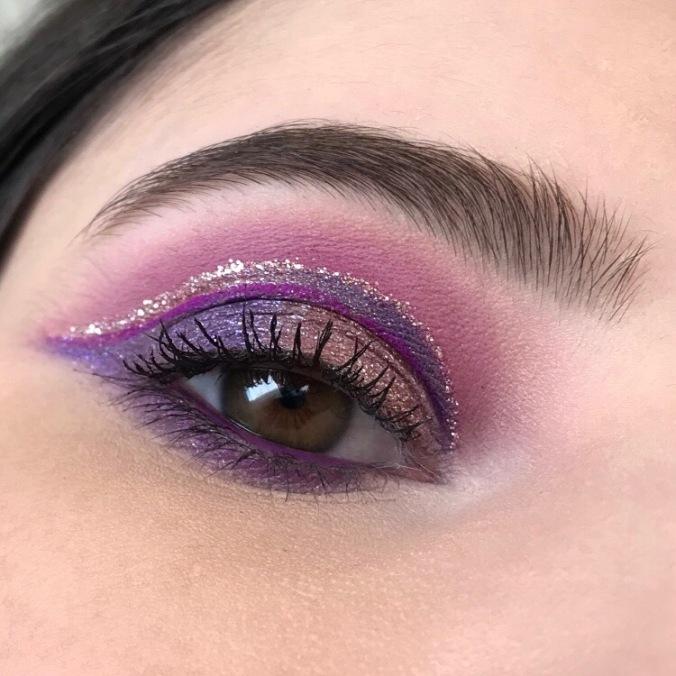 Makeup avec la Palette It's My Pleasure de Colourpop (1)