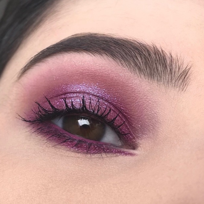 Makeup avec la Palette It's My Pleasure de Colourpop (2)
