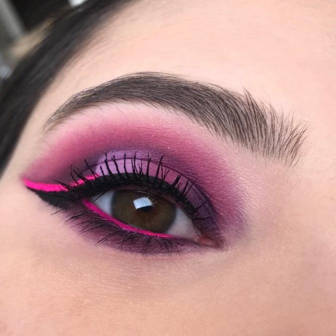 Makeup avec la Palette It's My Pleasure de Colourpop (3)