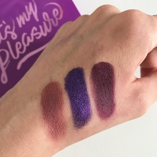 Palette It's My Pleasure de Colourpop (swatchs) (3)