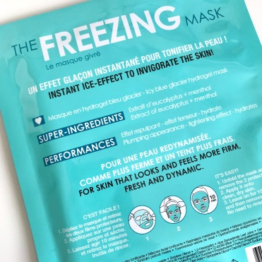 MASQUE VISAGE Freezing Mask, SEPHORA (2)