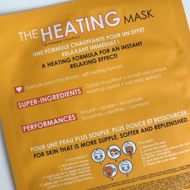 MASQUE VISAGE Heating Mask, SEPHORA (2)
