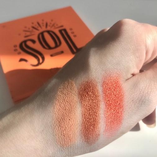 Palette Sol de Colourpop - Swatchs (1)