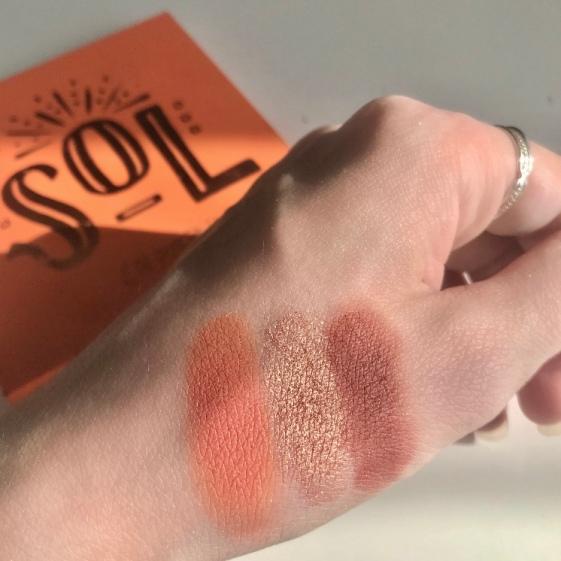 Palette Sol de Colourpop - Swatchs (3)